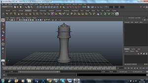 3D model - classic queen