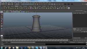 3D model - classic rook