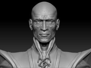 3d model - face