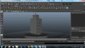 3D model - robot castle