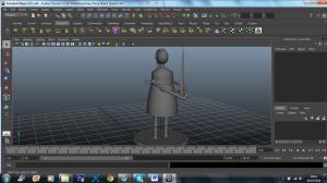 3D Model - robot queen