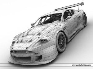 3D Modeling - proffesionsal car model