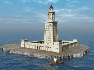 Lighthouse of alexandria 1