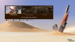 uncharted 3 main menu